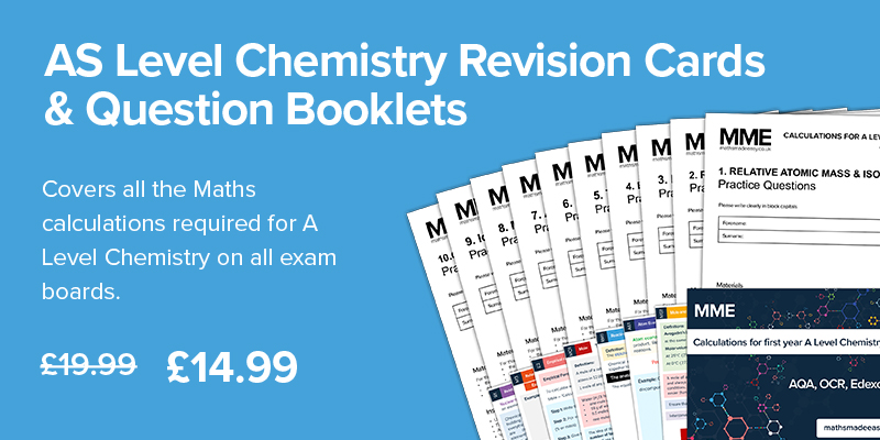 A Level Chemistry Revision Cards