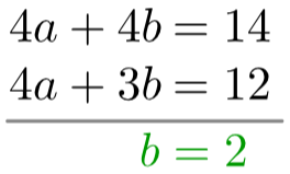 simultaneous equations questions