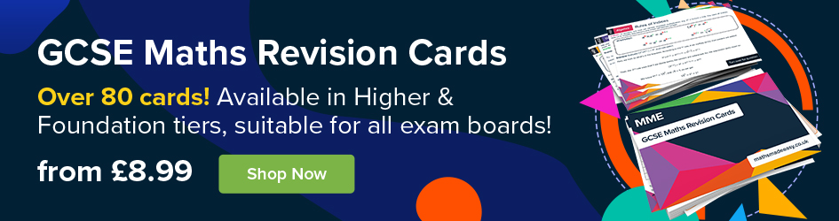 GCSE Maths Revision Cards