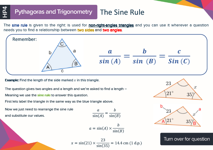 GCSE Maths revision cards Preview Image