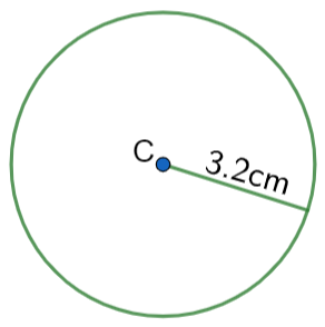 area of a circle example question