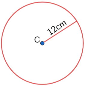 circumference of a circle example question