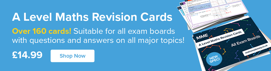 A Level Maths Revision Cards