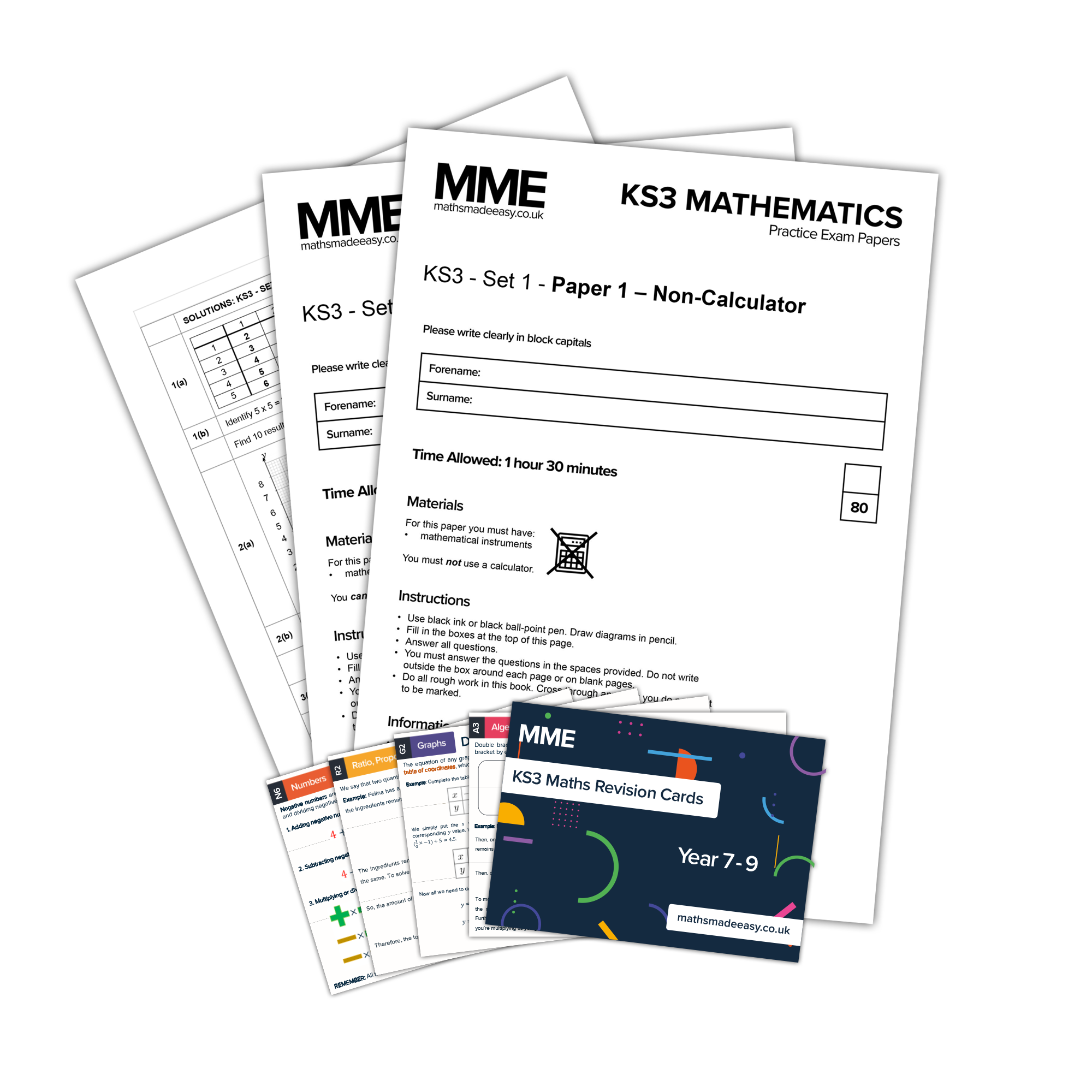 KS3 Maths Bundle