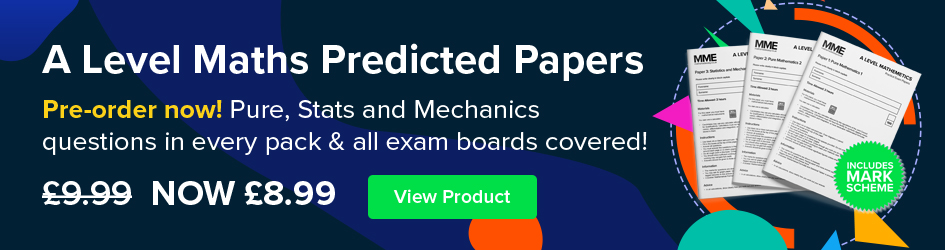 New A Level Maths Predicted Papers!