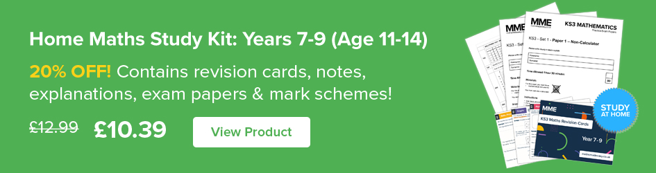 Home Maths Study Kit: Years 7-9 (Age 11-14)  Now on Sale