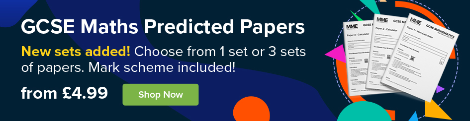 New GCSE Maths Predicted Paper Sets Added!