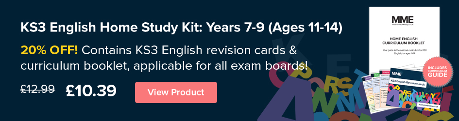 KS3 English Home Study Kit: Years 7-9 (Ages 11-14)