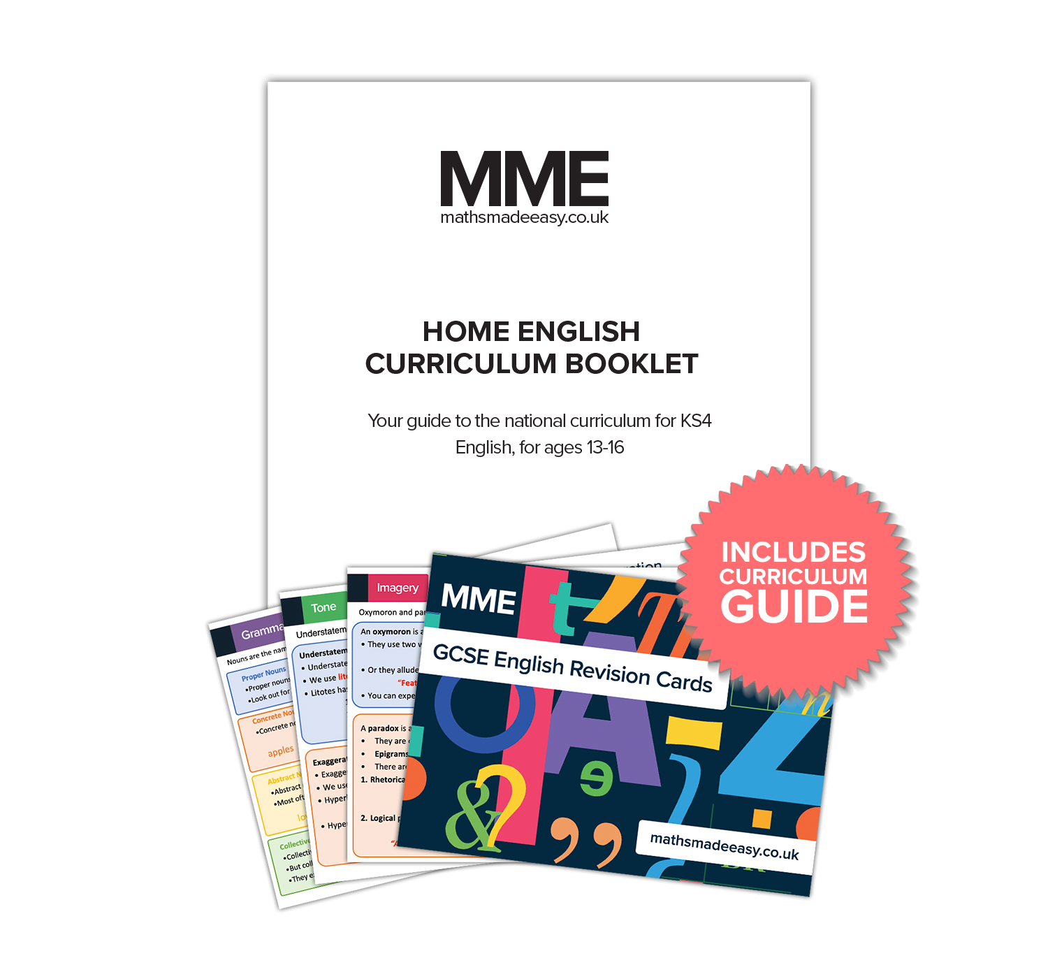 GCSE English Home Study Kit: Years 9-11 (Ages 13-16)