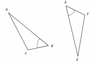 congruent triangles proof question