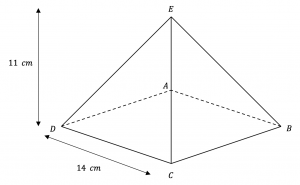 Pyramid Angle Question