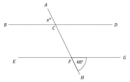 unknown vertically opposite corresponding f angle question