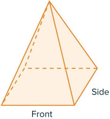 plans and elevations pyramid