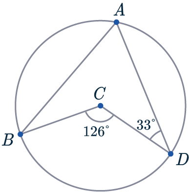 angle at centre and round a point question
