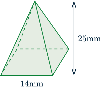 volume of pyramid and cone