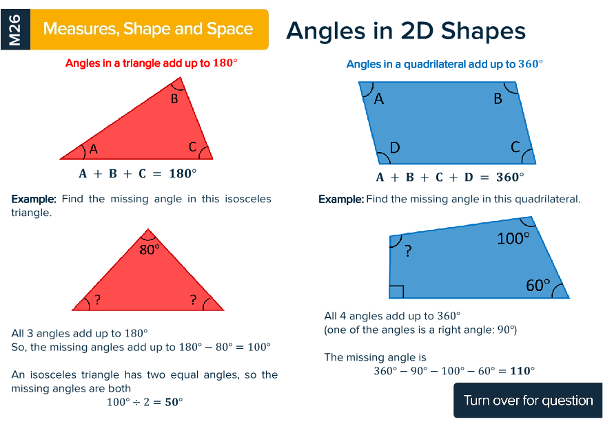 Functional Skills Maths Level 2 Revision Cards Preview Image